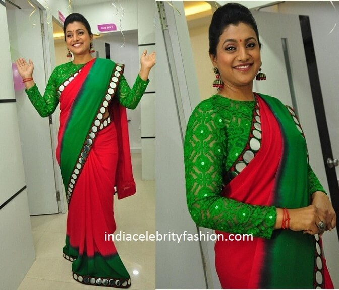 Roja in Full Sleeve Blouse Saree