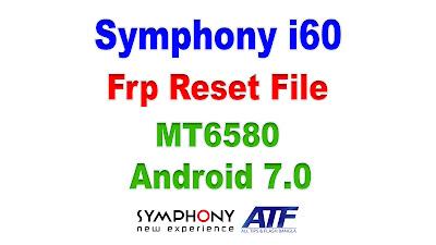Symphony i60 Frp Reset File