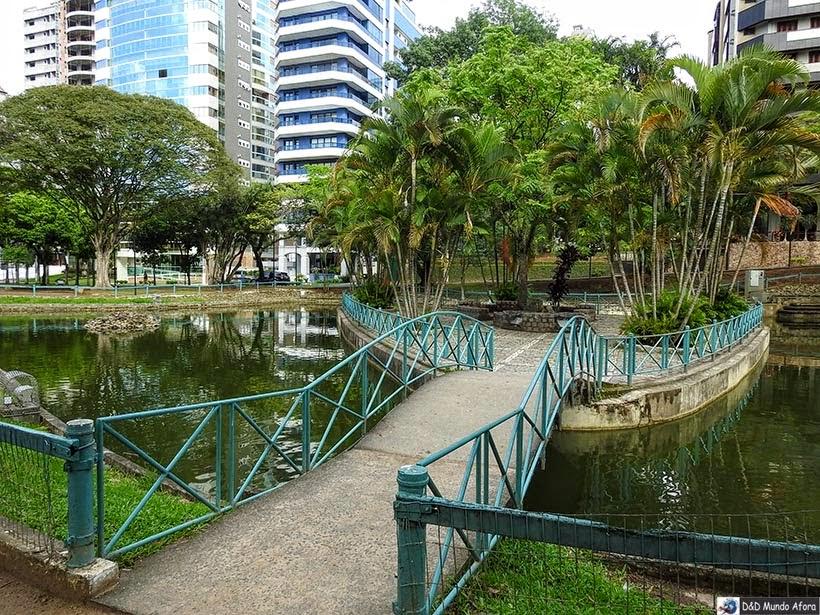 Praça do Congresso, em Criciúma -  Diário de bordo - Encontro Rota Sul em Santa Catarina