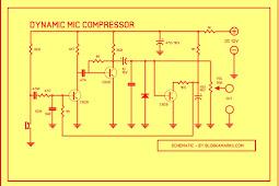 Membuat Pream Mikrophone 3 Transistor Skema dan layout PCB