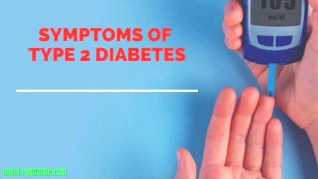 The most common symptoms of diabetes
