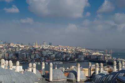 Süleymaniye Camii'nden Haliç Manzarası
