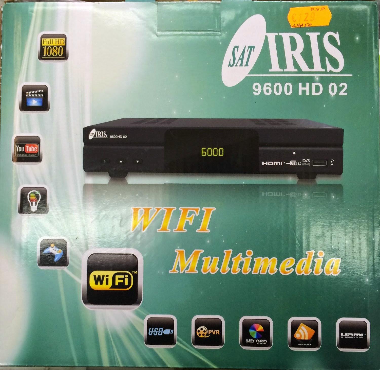 Iris 9600 HD - Manual CCCam y cómo meter clines por usb