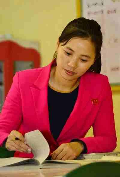 Teacher at Ryomyong Kindergarten