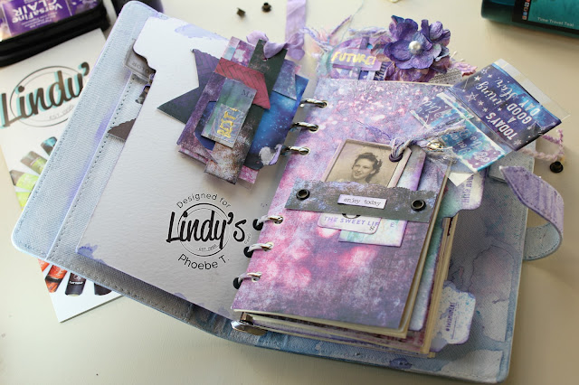 Mixed Media Planner workshop  by Phoebe Tonosaki