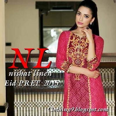 f26e875341 NISHAT LINEN - NL PRET EID COLLECTION 2015-16 DRESSES / CATALOG ...