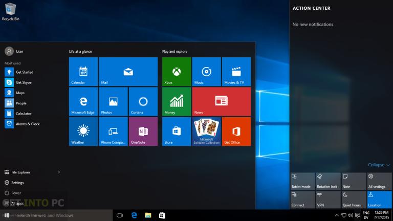 Windows 10 Pro VL X64 ISO March 2016 Updates Download | Crackor Squad