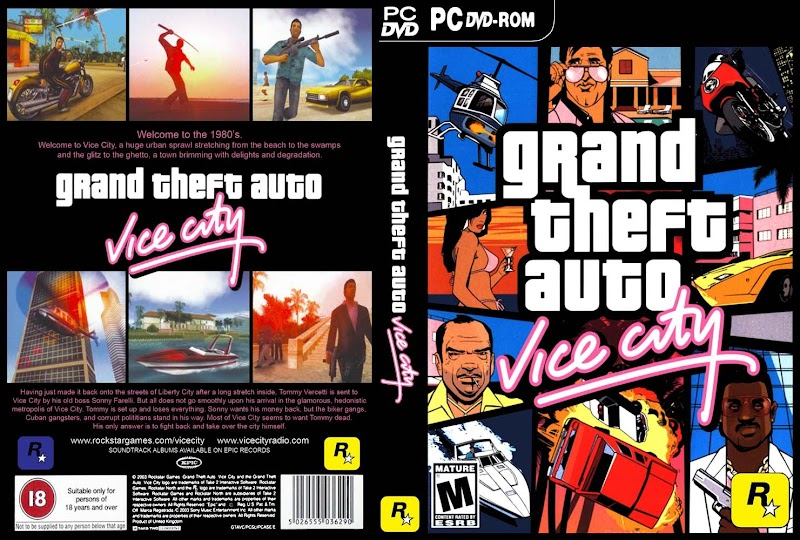 GAME GRAND THEFT AUTO VICE CITY HD (VIỆT HÓA) >> Game HoIT Asia
