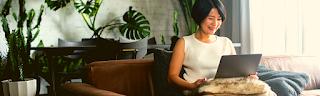 Femme job en ligne rédaction, gagner argent en ligne
