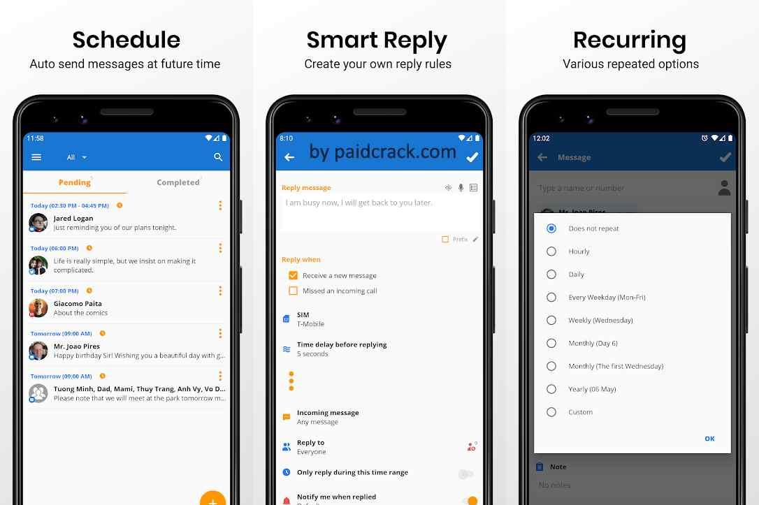 Do It Later Premium Text Message Automation 2.9.3 APK