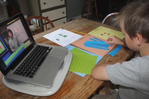 BJU Press Homeschool Math 3 Distance Learning