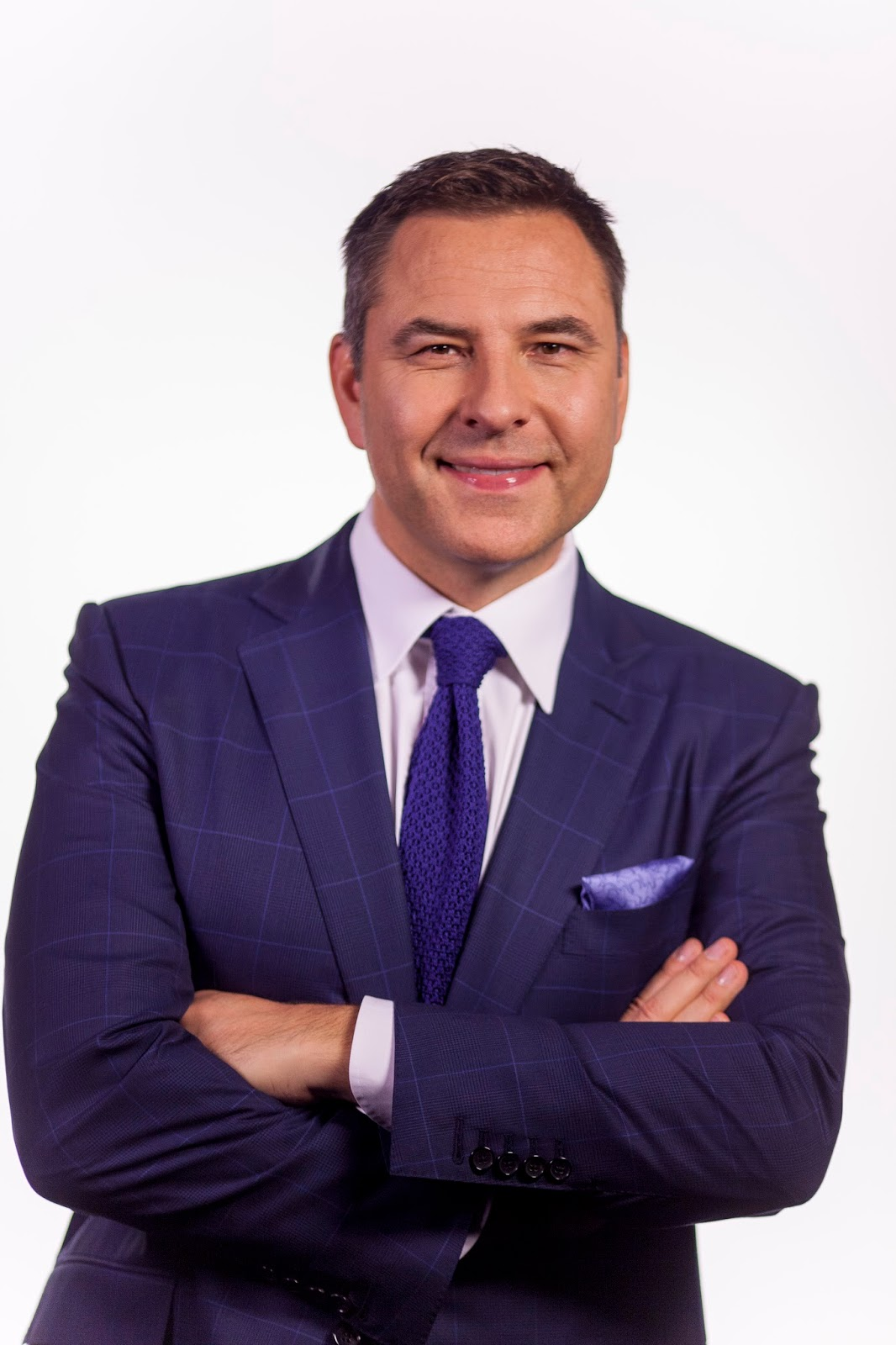 David Walliams head and shoulder photo