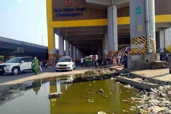 raja-nagar-singh-metro-station-ballabhgarh-faridabad-mcf-news