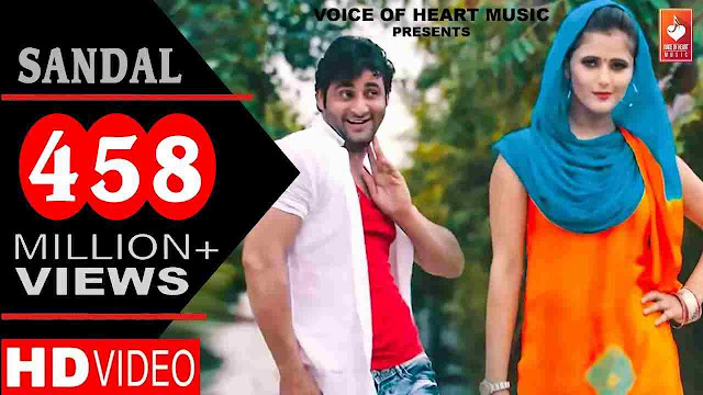 Sandal song Lyrics - Raju Punjabi