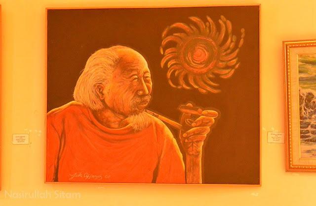 Lukisan Affandi di Museum Affandi Yogyakarta
