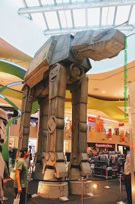 Star Wars Walker, AT-AT, Star Wars mechandise, Vivocity, Singapore