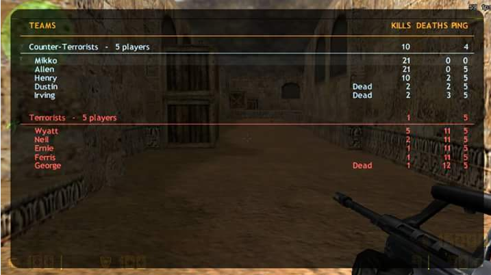 how to run counter strike on android