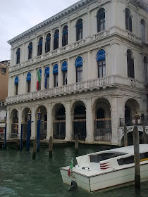 The Palazzo Dolfin Manin is now an office of the Banca d'Italia