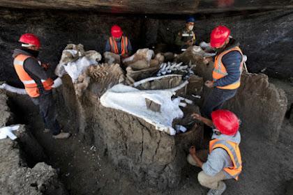 Penemuan Kerangka 'MAMUT' di Meksiko