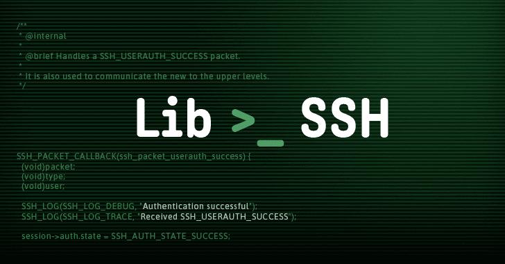 libssh ssh protocol library