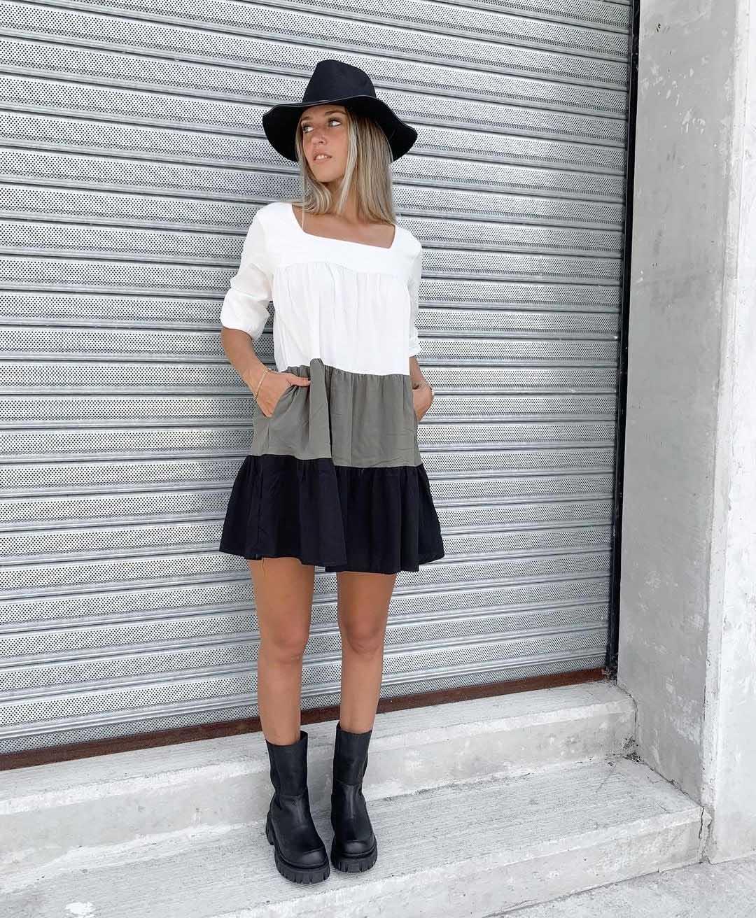 vestidos cortos invierno 2021 ropa de moda juvenil