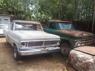 JURAGAN BAHAN MOBIL KLASIK Jual Bahan Ford F100 Fletside 1970 & Chevrolet Viking Bak Kuping 1963