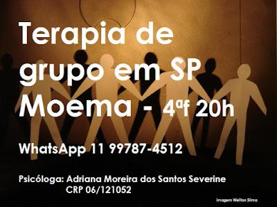 terapia de grupo em São Paulo Moema 2017