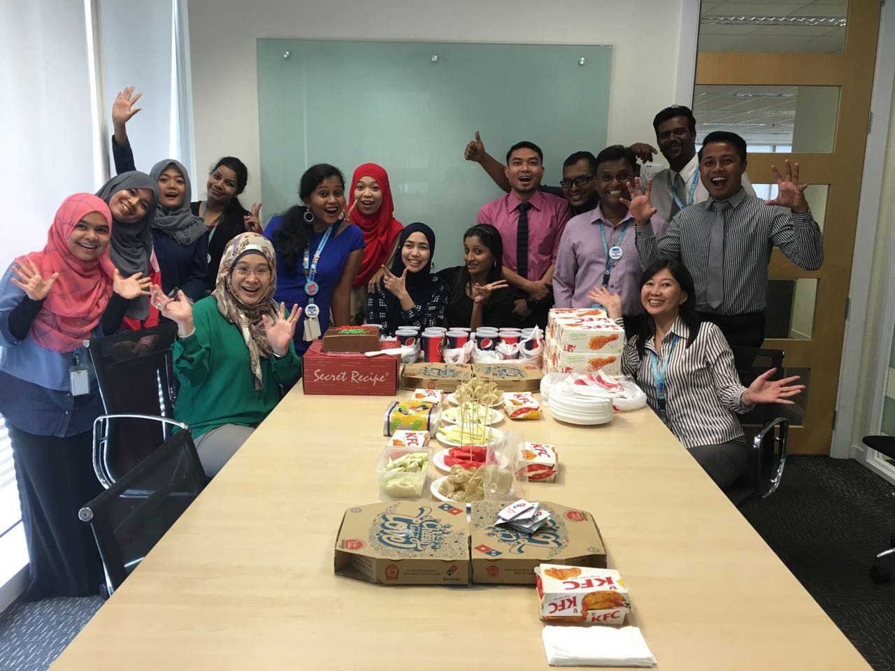 Farewell Reen Bekerja Di RHB Bank