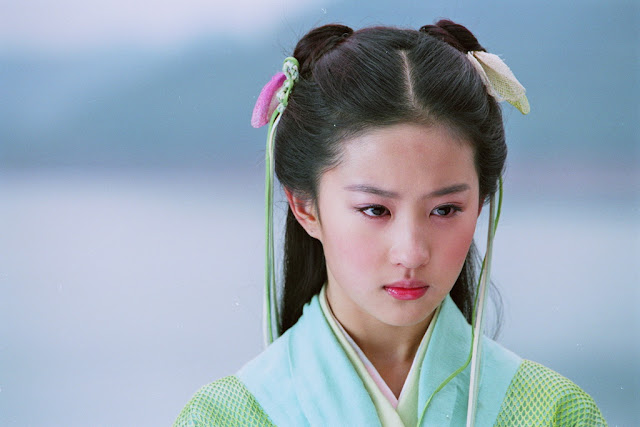 Crystal Liu as Zhao Ling Er 2005 Chinese Paladin