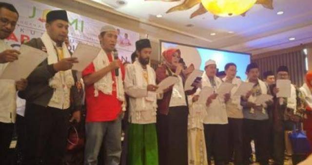 Jaringan Alumni Mesir Indonesia Deklarasi Dukung Jokowi-Ma'ruf