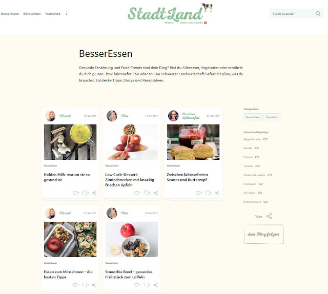 StadtLand, Ernährungsblog, besser essen, Foodblog, miri weber