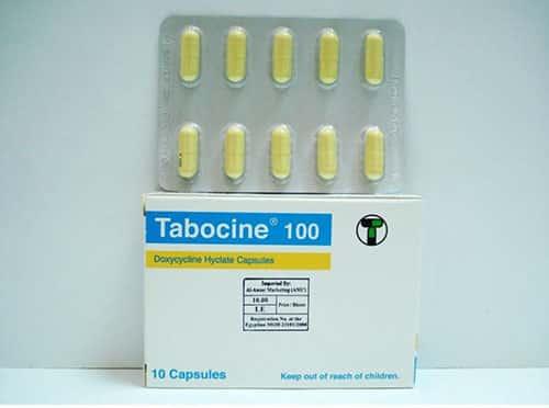 سعر ودواعى إستعمال دواء تابوسين Tabocine لعلاج الإلتهابات