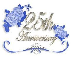 25th wedding anniversaryv