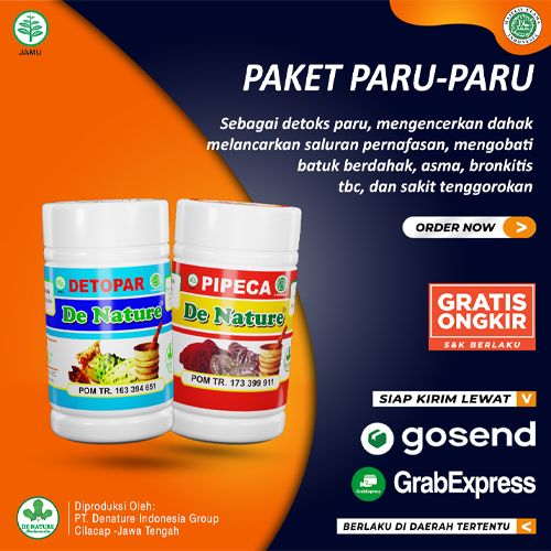 Paket Obat Paru Paru Denature