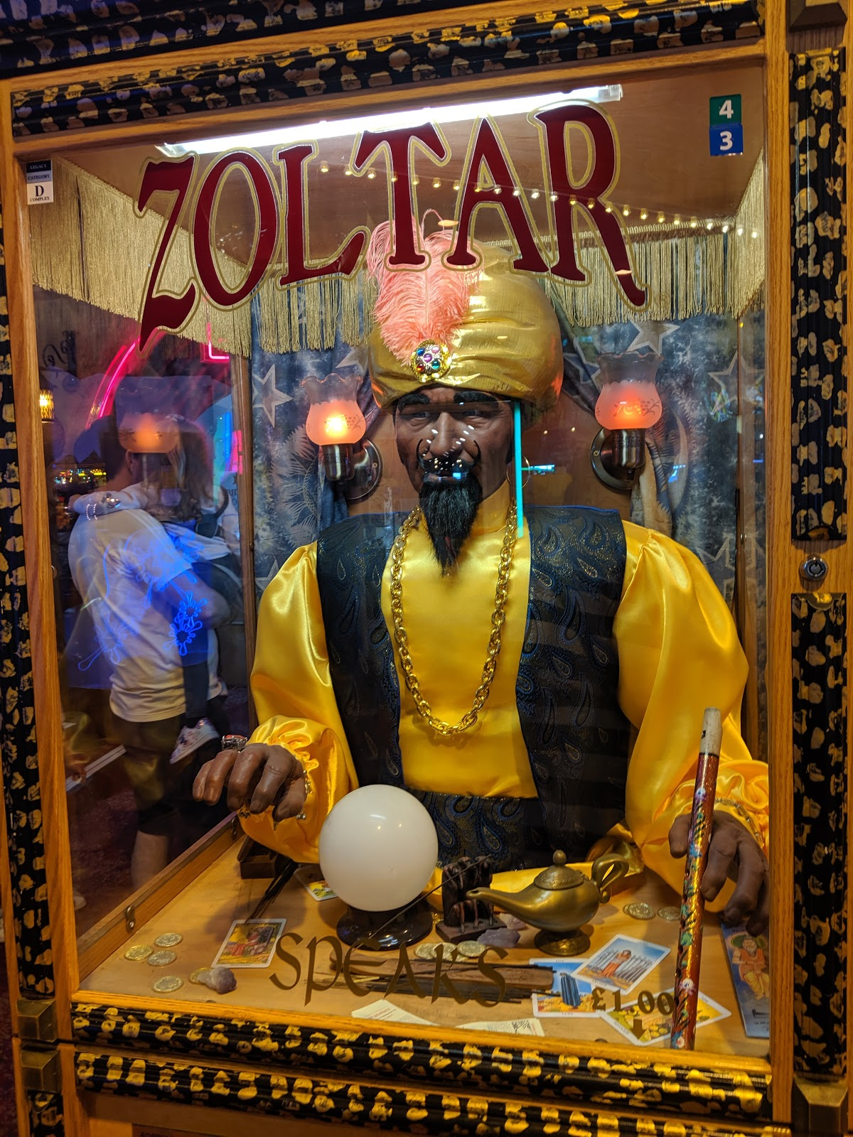 An A-Z Guide to Coral Island, Blackpool  - Zoltar