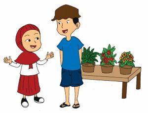 Siti ingin mengetahui cara merawat bunga mawar www.simplenews.me