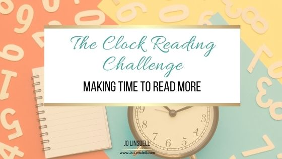 The Clock Reading Challenge Making time to read more #ClockReadingChallenge