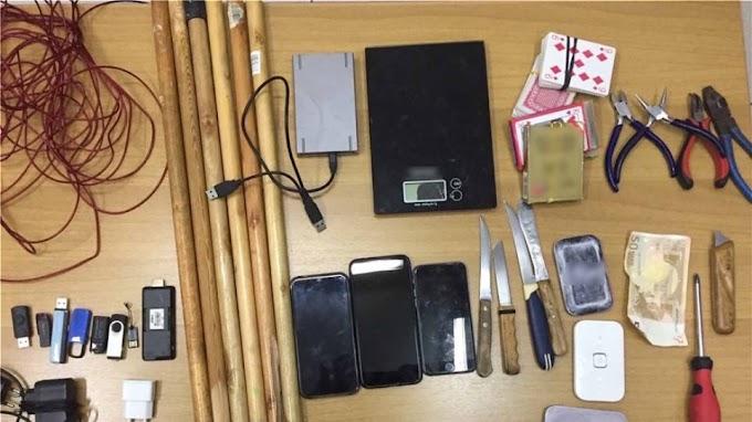 Κορυδαλλός: Έφοδος σε κελιά κατηγορούμενων για τρομοκρατία - Βρήκαν από χάπια μέχρι... αυτοσχέδια όπλα
