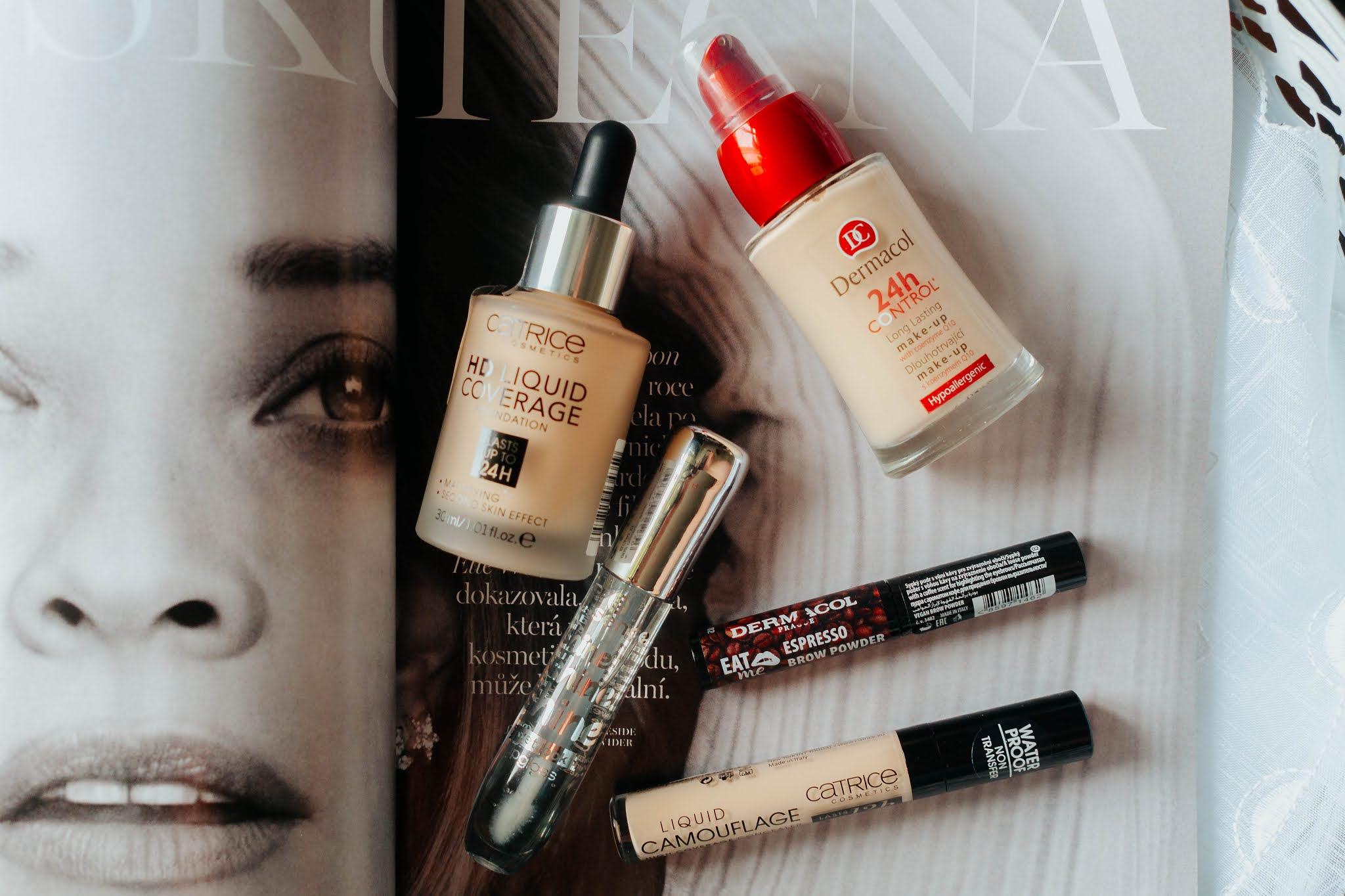 Kosmetika z drogerie DM