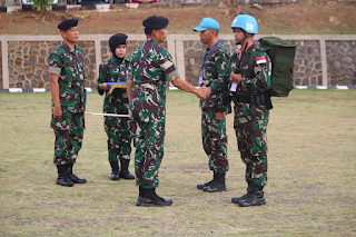Kontingen Garuda XXIII-N UNIFIL TA 2019
