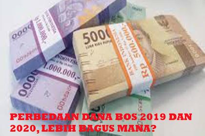 Apa sih Perbedaan Dana BOS 2019 dan 2020?
