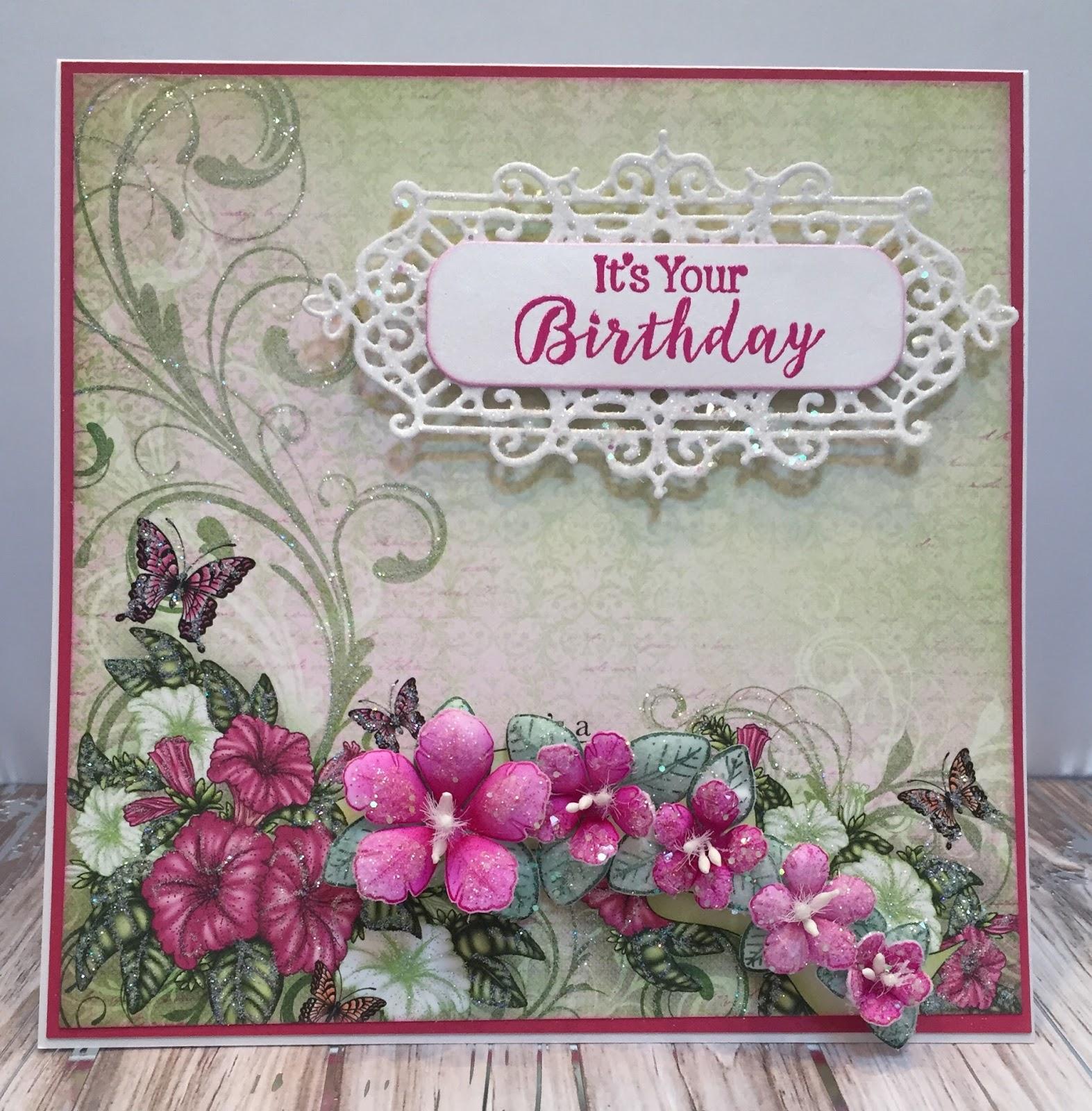 Jans Paper Flowers Heartfelt Creations Special Launch
