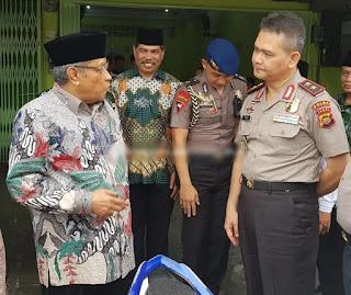 Kapolda Jambi Laksanakan Silaturahmi Bersama Ketua PB NU Disela Sela Kegiatannya Di Jambi