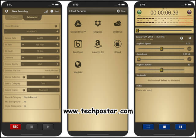 App Voice Record Pro