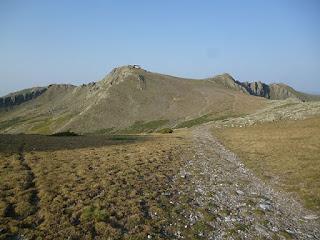 Pico del Lobo desde el Collado de las Peñuelas
