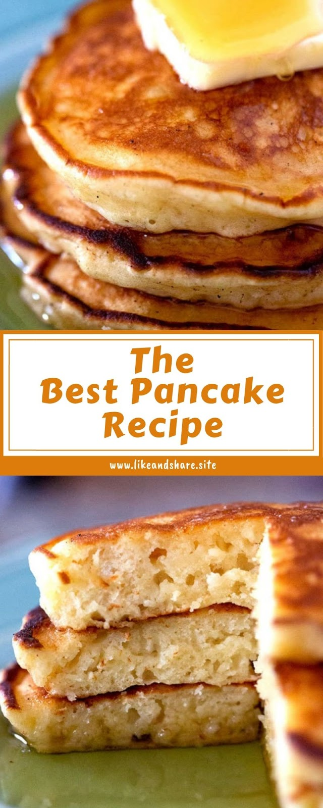 The Best Pancake Recipe