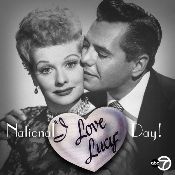 National I Love Lucy Day Wishes Photos