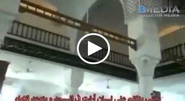 VIDEO Paling Seram Ketika Ini.. Sedang Imam Membaca KHUTBAH Terdengar Suara-Suara Jin Perempuan Didalam Masjid !!!