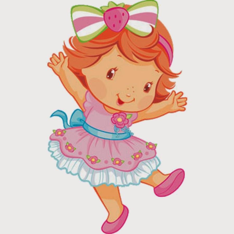 Imagenes para imprimir gratis de Fiesta de Strawberry Shortcake bebé.