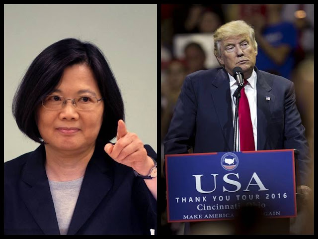 Chinese FM: Tsai's phone call with Trump 'petty action' of Taiwan